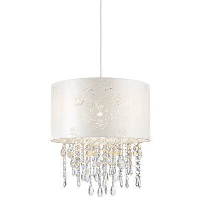Lumi Glace 3-Light Crystal Pendant