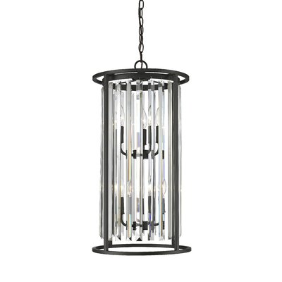 Chelvey 6-Light Foyer Pendant Finish: Bronze