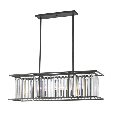 Chelvey 6-Light Kitchen Island Pendant Finish: Bronze