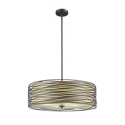 Cotner 3-Light Drum Pendant