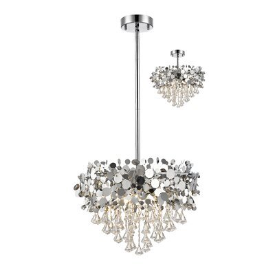 Monaco 12-Light Crystal Pendant