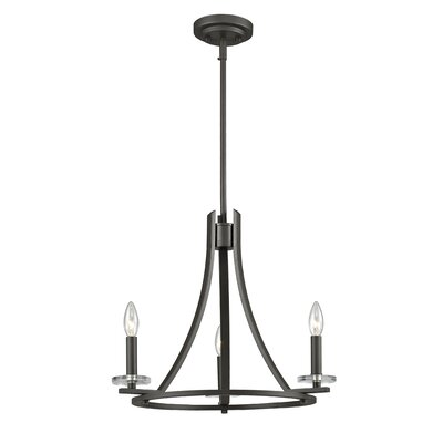 Favela 3-Light Semi Flush Mount Finish: Bronze