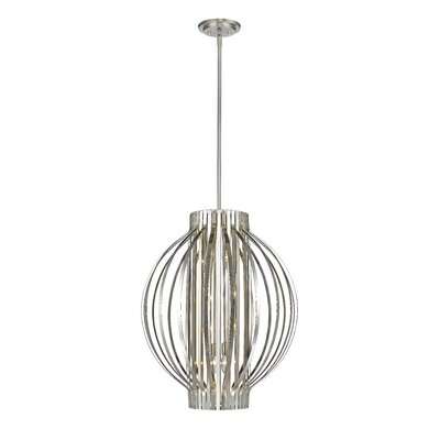 Fava 8-Light Foyer Pendant Finish: Brushed Nickel