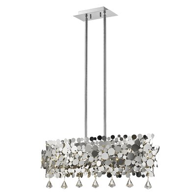 Monaco 6-Light Crystal Pendant