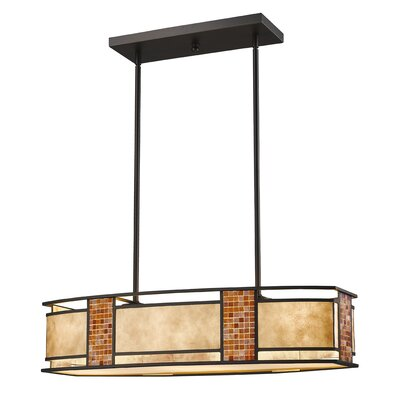 Brittain 4-Light Kitchen Island Pendant Size: 9.75 H x 12 W x 12 D