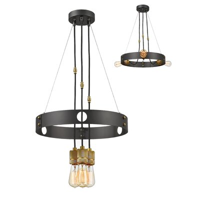 Crepeau 3-Light Cluster Pendant