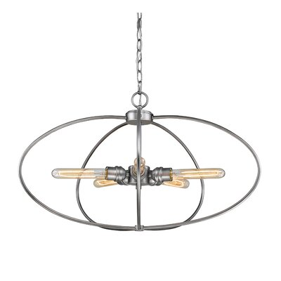 Persis 5-Light Globe Pendant