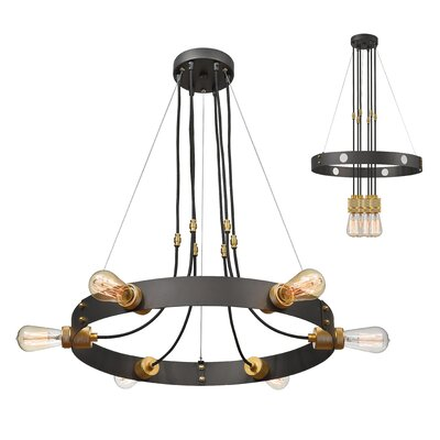 Troubadour 6-Light Candle-Style Chandelier
