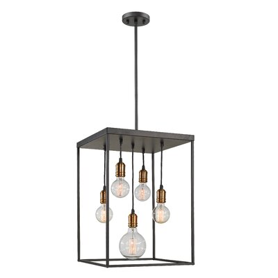 Crepeau 5-Light Foyer Pendant