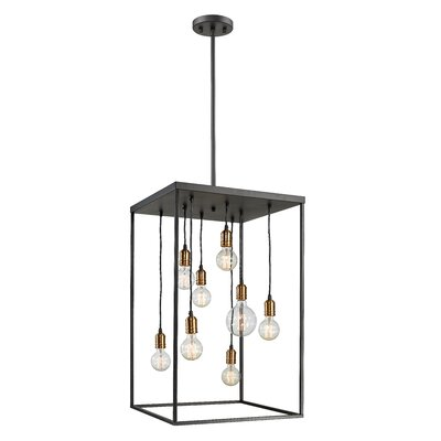 Crepeau 8-Light Foyer Pendant
