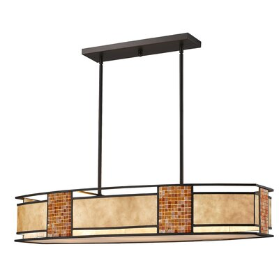 Brittain 4-Light Kitchen Island Pendant Size: 9.75 H x 16.5 W x 16.5 D