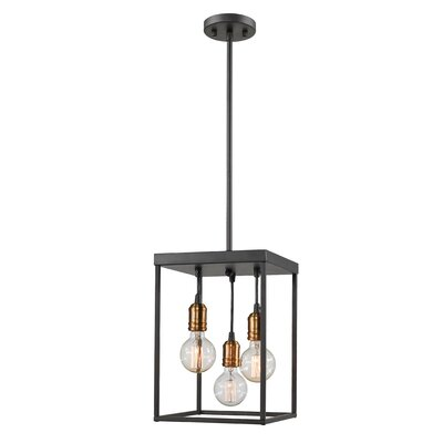 Crepeau 3-Light Foyer Pendant