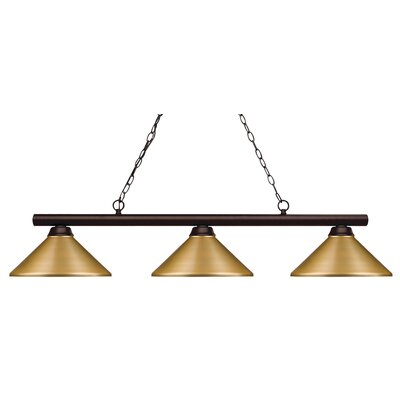 Chapdelaine 3-Light Pool Table Light