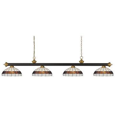 Riviera 4-Light Pool Table Light