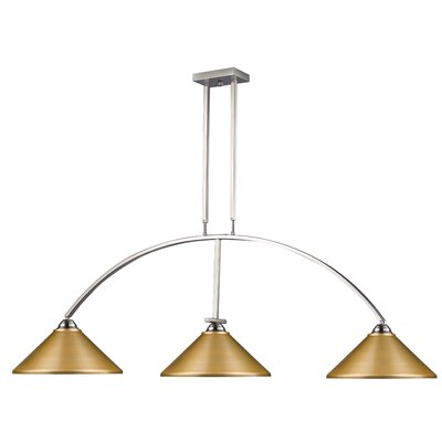 Martini 3-Light Pool Table Light