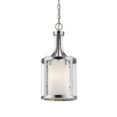 Cheyne 3-Light Foyer Pendant Finish: Chrome