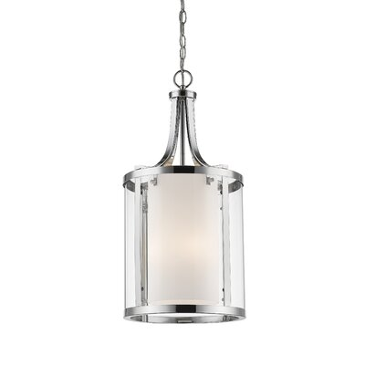 Cheyne 4-Light Foyer Pendant Finish: Chrome