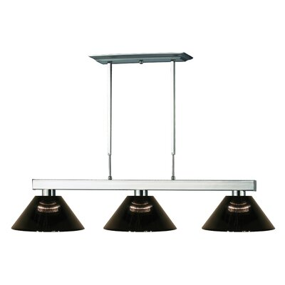 Players 3-Light Pool Table Light
