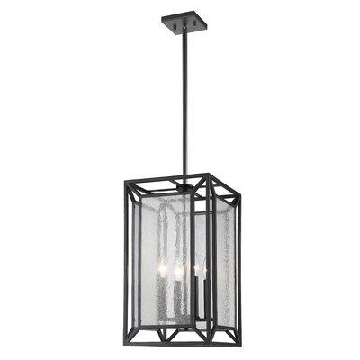 Silverstein 4-Light Foyer Pendant
