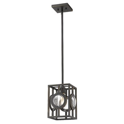 Silvey 1-Light Mini Pendant Finish: Olde Bronze