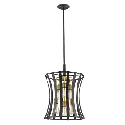 Gerling 6-Light Geometric Pendant