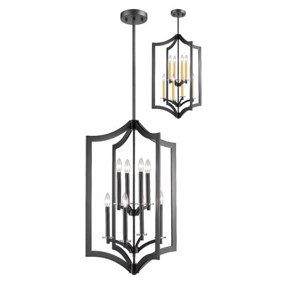 Lilou 8-Light Foyer Pendant Finish: Bronze