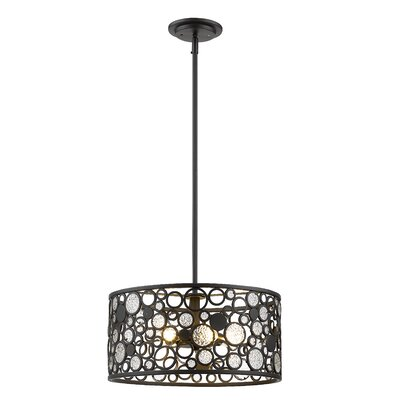 Mcguire 5-Light Drum Pendant
