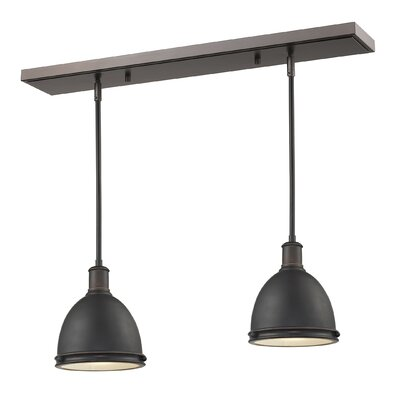 Marquise 2-Light Kitchen Island Pendant