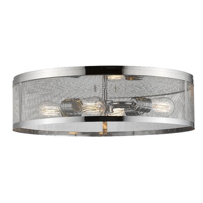 Meshsmith 4-Light Flush Mount Finish: Chrome
