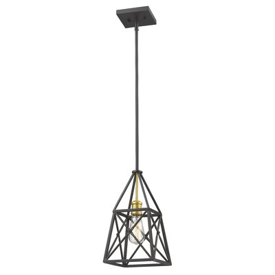 Tolya 1-Light Mini Pendant Finish: Bronze Gold