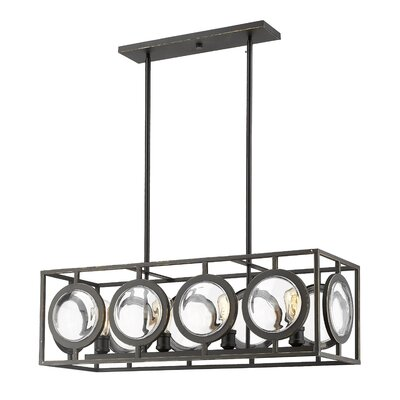 Silvey 4-Light Kitchen Island Pendant Finish: Olde Bronze