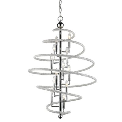Iliomar 12-Light Geometric Pendant