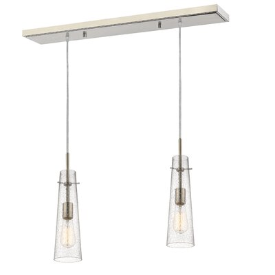 Monte 2-Light Kitchen Island Pendant