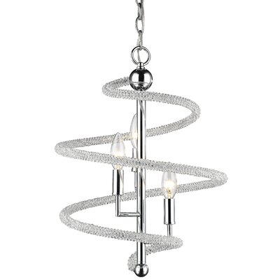 Iliomar 3-Light Geometric Pendant