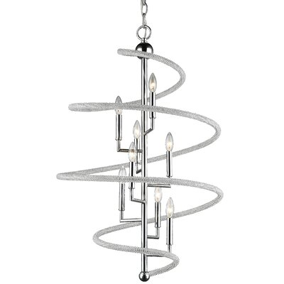 Iliomar 8-Light Geometric Pendant