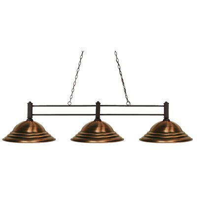 Beeching 3-Light Pool Table Light