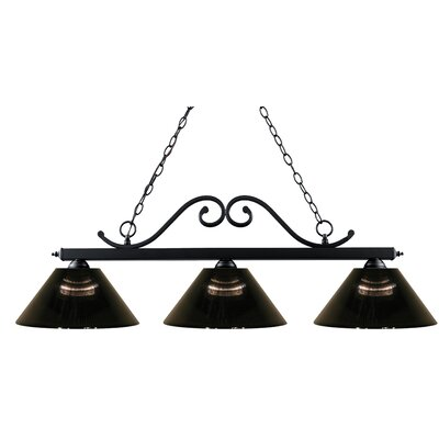 Chaplin 3-Light Pool Table Light