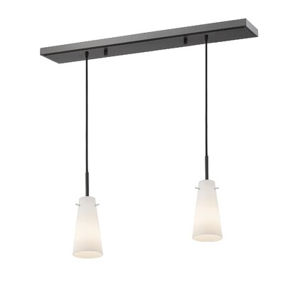 Gholson 2-Light Kitchen Island Pendant