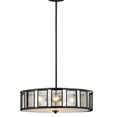 Giambrone 4-Light Drum Pendant