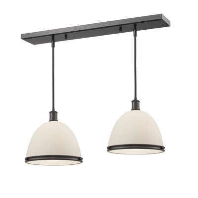 Mason 2-Light Kitchen Island Pendant