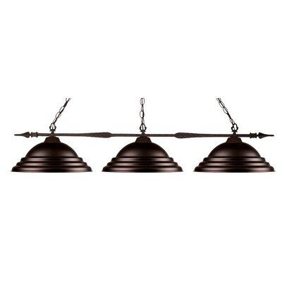 Aztec 3-Light Pools Table Light