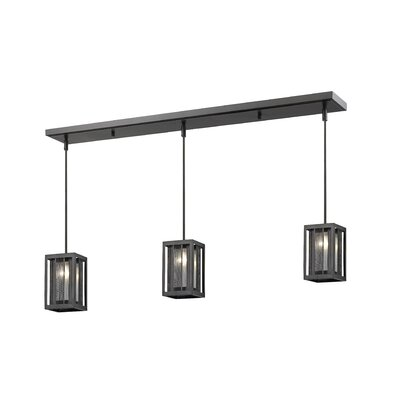 Valerii 3-Light Kitchen Island Pendant