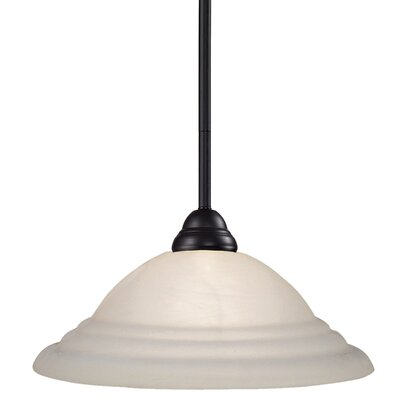 Zephyr Traditional 1-Light Inverted Pendant