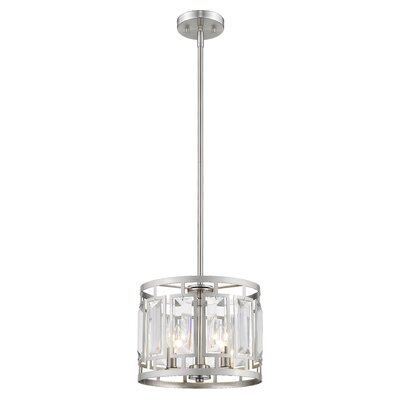Vella 3-Light Drum Pendant
