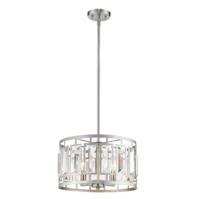 Vella 4-Light Drum Pendant