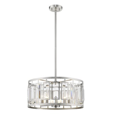 Vella 5-Light Drum Pendant