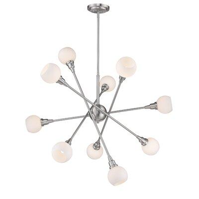 Silvernail 10-Light Sputnik Chandelier