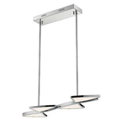 Keli 4-Light LED Kitchen Island Pendant