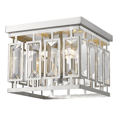 Vella 4-Light Flush Mount