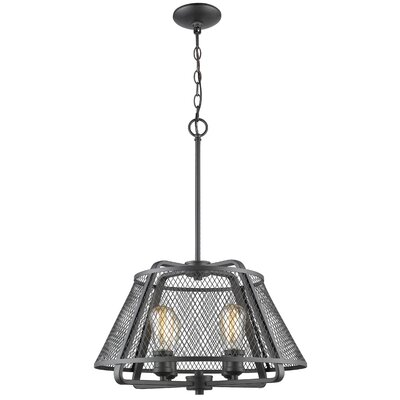 Valya 4-Light Foyer Pendant Light Finish: Bronze